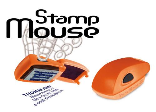 pieczątki wagraf mouse stamp